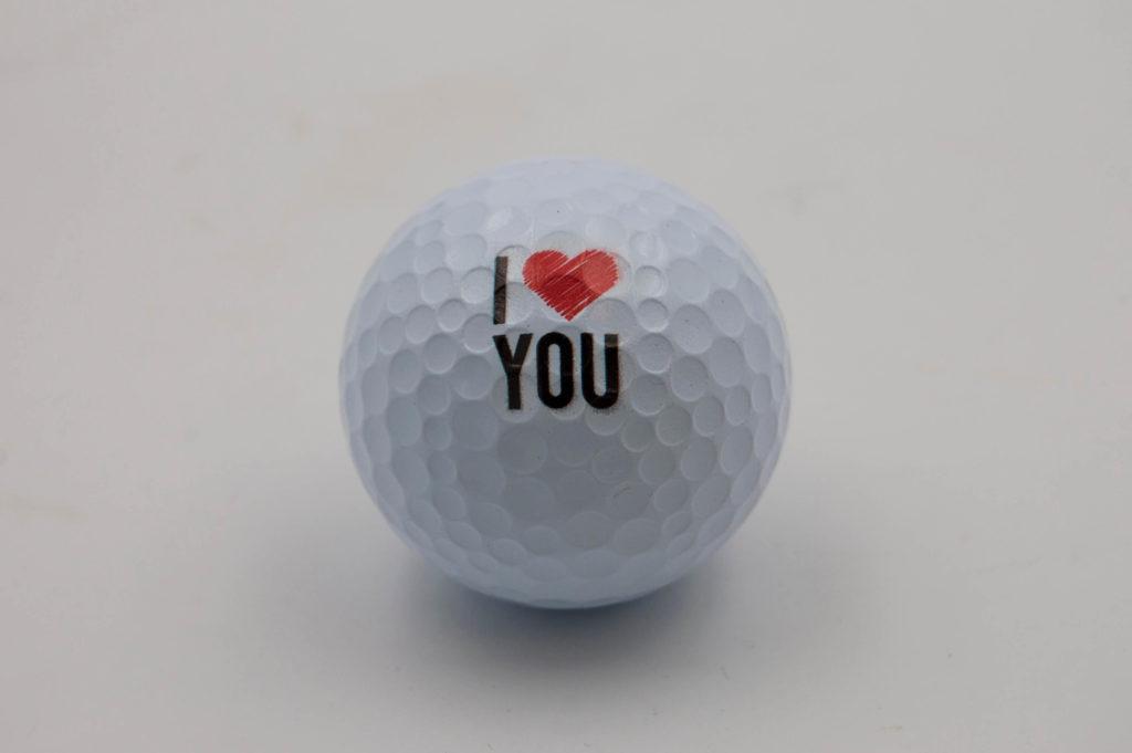Bolas de golf personalizadas con fotografias y logos