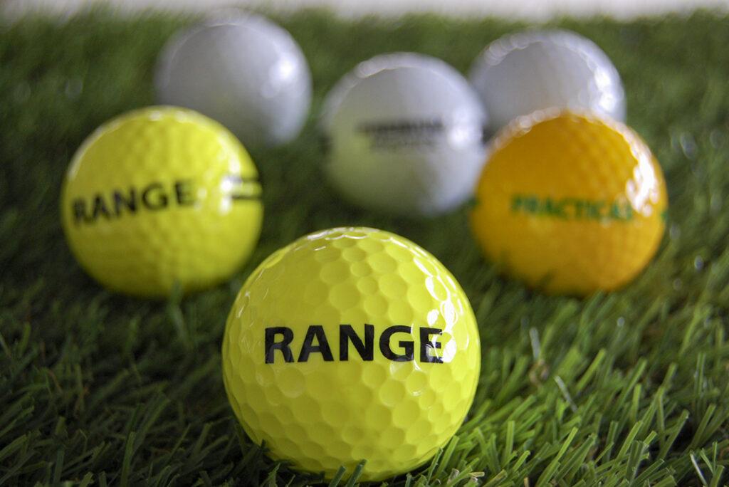 Range Balls VS Regular Golf Balls: What's The Difference?
